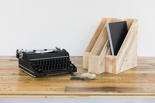tischlermeister volker frings stehsammler stehordner aus holz im 3er set avocadostore. Black Bedroom Furniture Sets. Home Design Ideas