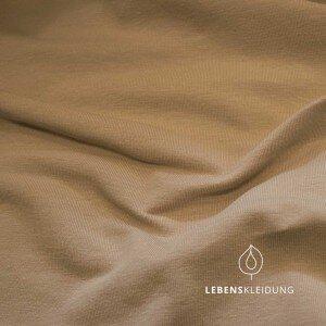 Bio-Baumwoll-Jersey taupe - Lebenskleidung