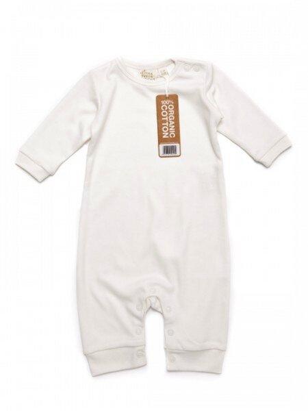 cffd373308da35 Little Green Radicals - Baby Strampler ohne Fuß natur ökologisch ...