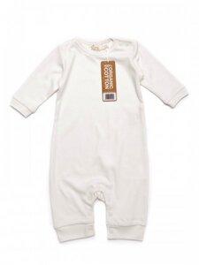Baby Strampler ohne Fuß natur ökologisch - Little Green Radicals