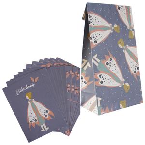 Elfe: Einladungskarten und Geschenkpapier-Tüten - ava&yves