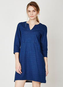 Cora Dress - Indigo - Thought | Braintree