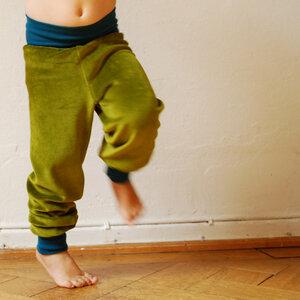 Nickihose für Kinder grün/petrol - Cmig