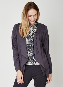 Gwenna Jacket - Charcoal - Thought | Braintree