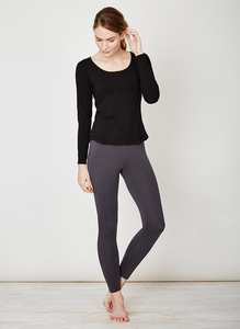 Bamboo Base Layer Leggings-Charcoal - Thought | Braintree