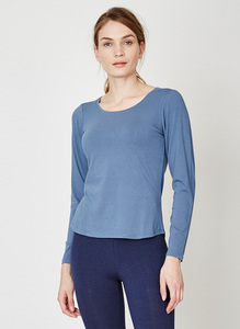 Bamboo Basics Tee Blau - Thought | Braintree