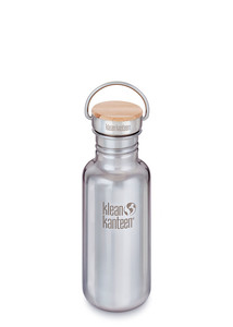 Edelstahlflasche Klean Kanteen® Reflect mit Bambusdeckel (532ml) - Klean Kanteen