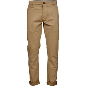 Garment Dyed Satin - Chino in beige - GOTS - KnowledgeCotton Apparel