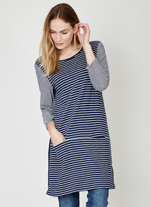 Edith Tunic - indigo - Thought | Braintree