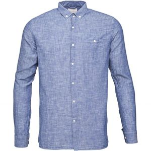 Cotton/Linen Shirt- GOTS  - GOTS  Turkish See - KnowledgeCotton Apparel