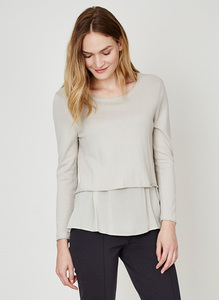 Dorianna Top - Stone - Thought | Braintree