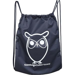 Gym Bag - Turnbeutel - in dunkelblau - aus 100%-Recycling PET - KnowledgeCotton Apparel