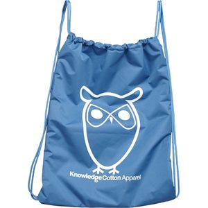 Gym Bag - Turnbeutel - in hellblau - aus 100%-Recycling PET - KnowledgeCotton Apparel