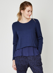 Dorianna Top - Indigo - Thought | Braintree