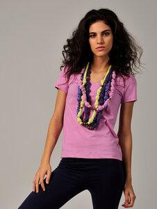 T-Shirt CRISTINA pink - Tudo Bom ?