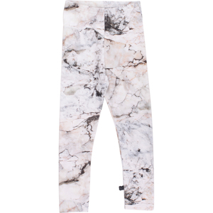 Rock Leggings Cream - Green Cotton