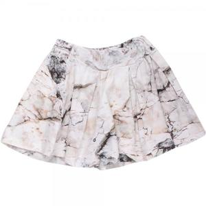 Rock Skirt Cream - Green Cotton