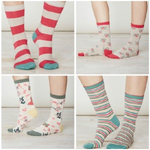 4er Pack Bambus Socken - Julia - Thought | Braintree