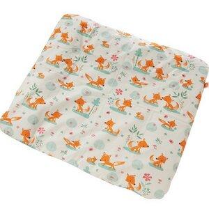 Ersatzbezug Wickelauflage 85x75 cm 'Sweet foxes'  - Millemarille