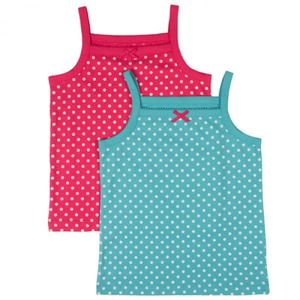 2-er Pack Unterhemden Polka Dot - Frugi