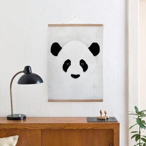 Set / Giant Panda + Posterleiste Eiche 50 cm - Kleinwaren / von Laufenberg