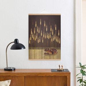 Set / Fawn + Posterleiste Eiche 50 cm - Kleinwaren / von Laufenberg