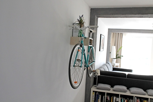 bicycledudes fahrrad wandhalterung gustav aus. Black Bedroom Furniture Sets. Home Design Ideas