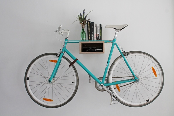 bicycledudes fahrrad wandhalterung gustav aus nachhaltigem holz avocadostore. Black Bedroom Furniture Sets. Home Design Ideas