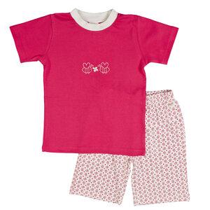 Kurzer Pyjama - pink - People Wear Organic