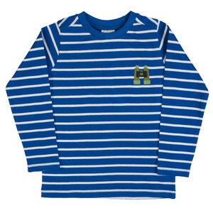 Langarmshirt aus Bio-Baumwolle gestreift - People Wear Organic