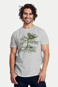 Bio-Herren-T-Shirt 'Rooted' - Peaces.bio - Neutral® - handbedruckt
