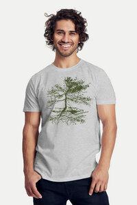 "Bio-Herren-T-Shirt ""Rooted"" - Peaces.bio - Neutral® - handbedruckt"