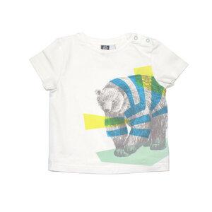 T-Shirt mit Bär - Pünktchen Komma Strich