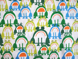 Bio Baumwollstoff - Frogs / Frösche - Cloud 9 Fabrics
