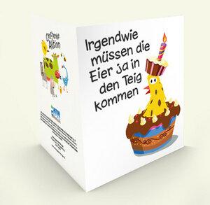 Hühner in Aktion - Zum Geburtstag - Geschenke in Aktion