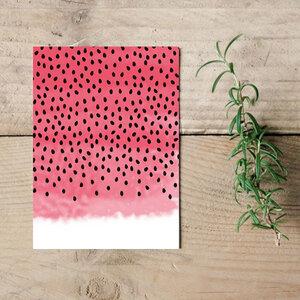 "Postkarte ""Melon""  - Parzelle43"