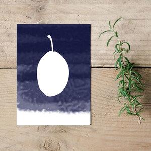 """Postkarte """"Plum""""  - Parzelle43"""
