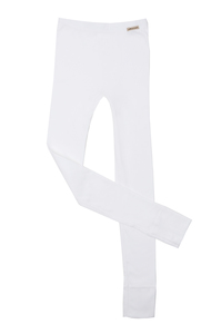 Fairtrade lange Hose, weiss - comazo|earth