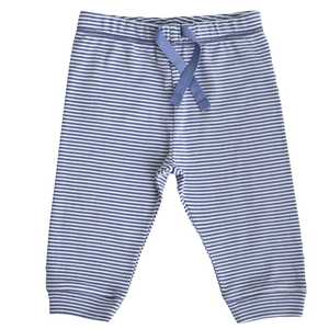 Babyhose geringelt blau - People Wear Organic