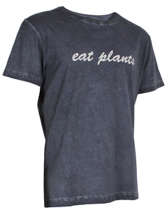 OGNX Yoga T-Shirt Eat Plants Herren Schwarz - OGNX
