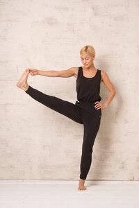 OGNX Yoga Jumpsuit Damen Schwarz - OGNX