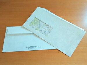 Briefumschläge mit Sichtfenster und Klebestreifen - Direktrecycling