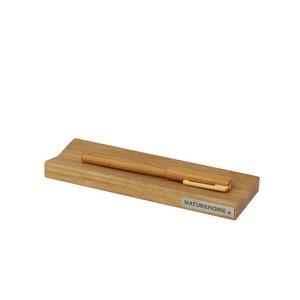 Stifte-Schale Stiftablage 19 cm x 6,4 cm aus Eichen-Holz SKRIPT - NATUREHOME