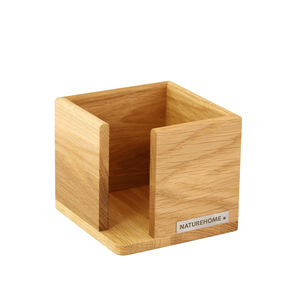 Zettelbox Zettelkasten Vollholz 9,4 x 9,4 cm CLASSIC - NATUREHOME