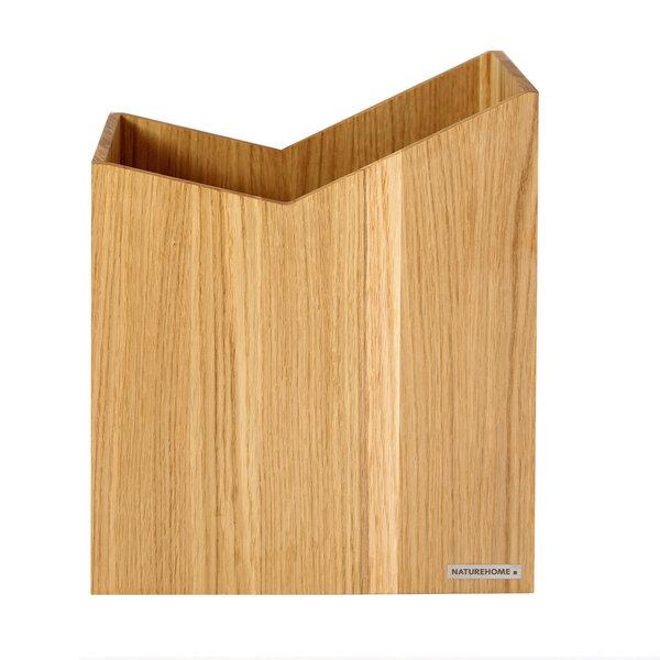 naturehome papierkorb 20 x 30x 35 cm bxtxh massiv holz eiche serie skript avocadostore. Black Bedroom Furniture Sets. Home Design Ideas