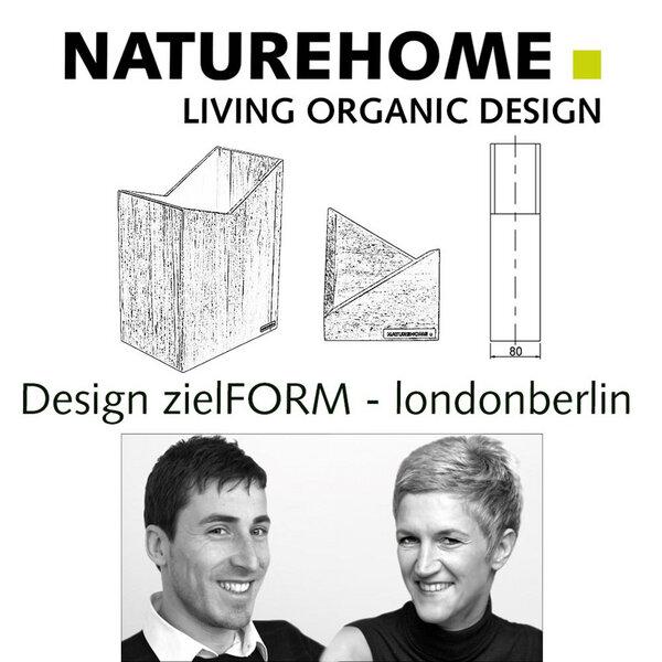 naturehome zeitungsst nder mit einem fach verschiedene holzarten skript natur ge lt avocadostore. Black Bedroom Furniture Sets. Home Design Ideas