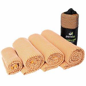 pandoo Bambus Reisehandtuch - leicht, extrem saugfähig & antibakteriell - pandoo