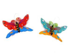 2er-Set Schmetterlinge aus Seide - Schönes aus Indochina