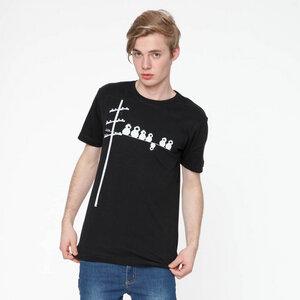 FellHerz Make some noise! T-Shirt white/black MEN - FellHerz