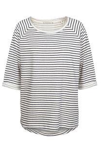 Sweatshirt aus Bio-Baumwolle Elisa Stripes - ARMEDANGELS
